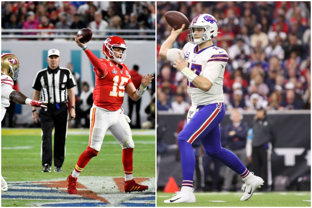 Patrick Mahomes and Josh Allen could have had very different NFL careers if not for a draft-day trade.