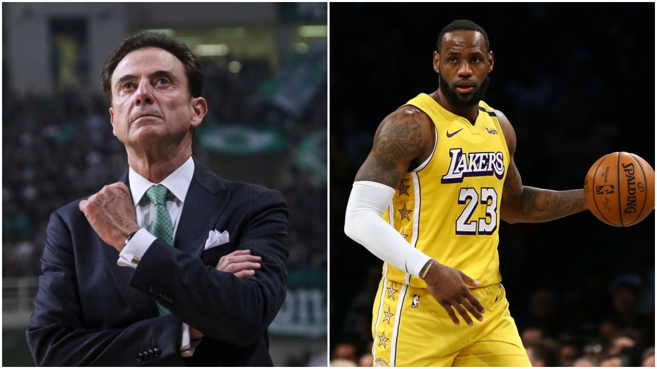 LeBron James has played for some underwhelming coaches and is now playing for Frank Vogel. Rick Pitino gave his perfect coach for James.
