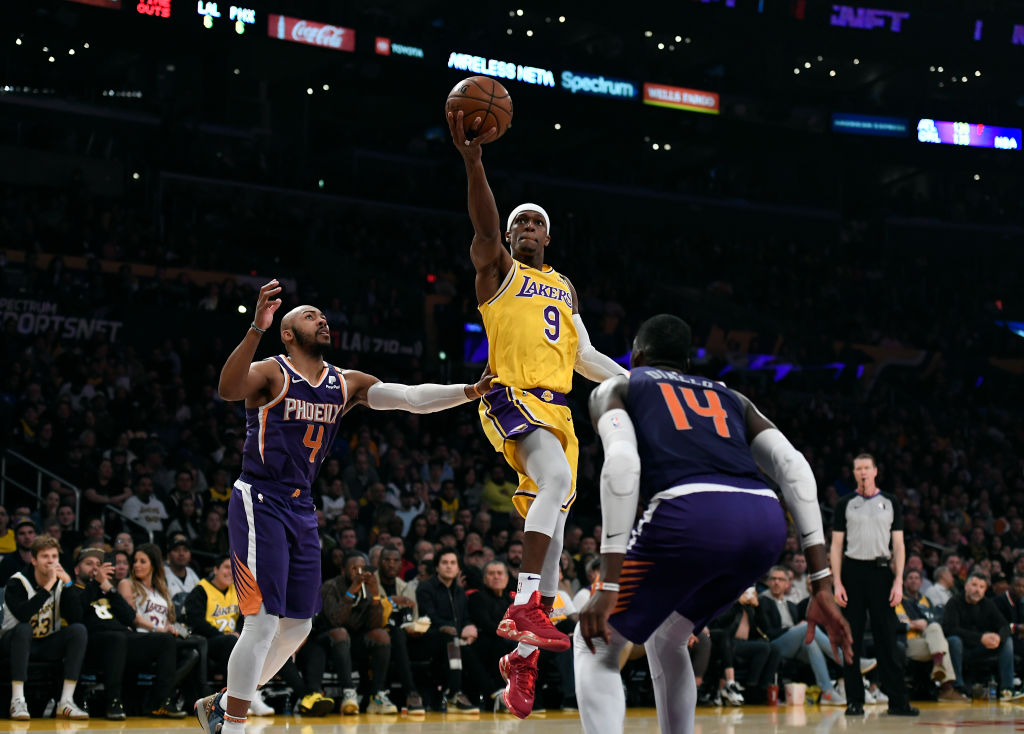 Los Angeles Lakers point guard Rajon Rondo might be the most underrated point guard in NBA history. That isn't a joke.