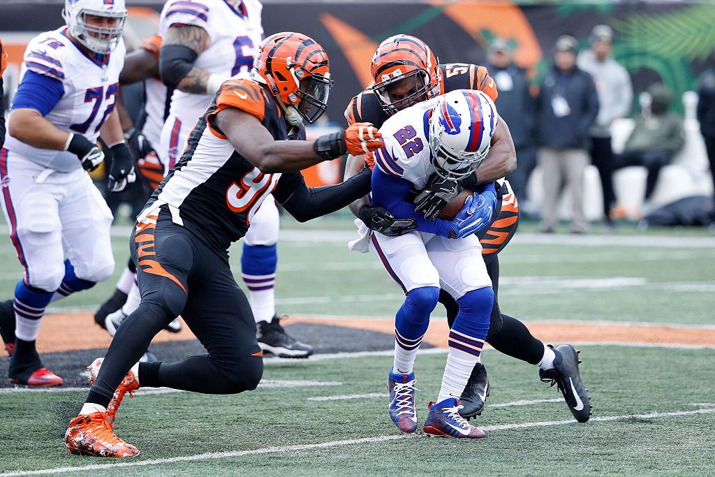 Reggie Bush earned $1.5 million of his one awful season with the Buffalo Bills.