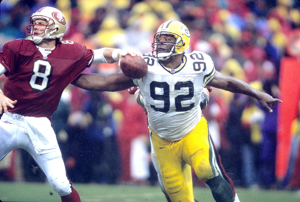 The NFL Allowed Reggie White's $500 Bounty for Hard Hits Back in the Day