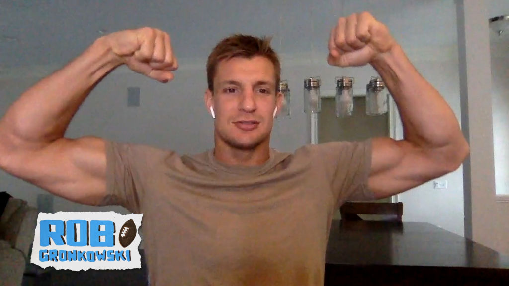 Rob Gronkowski appears on Watch What Happens Live