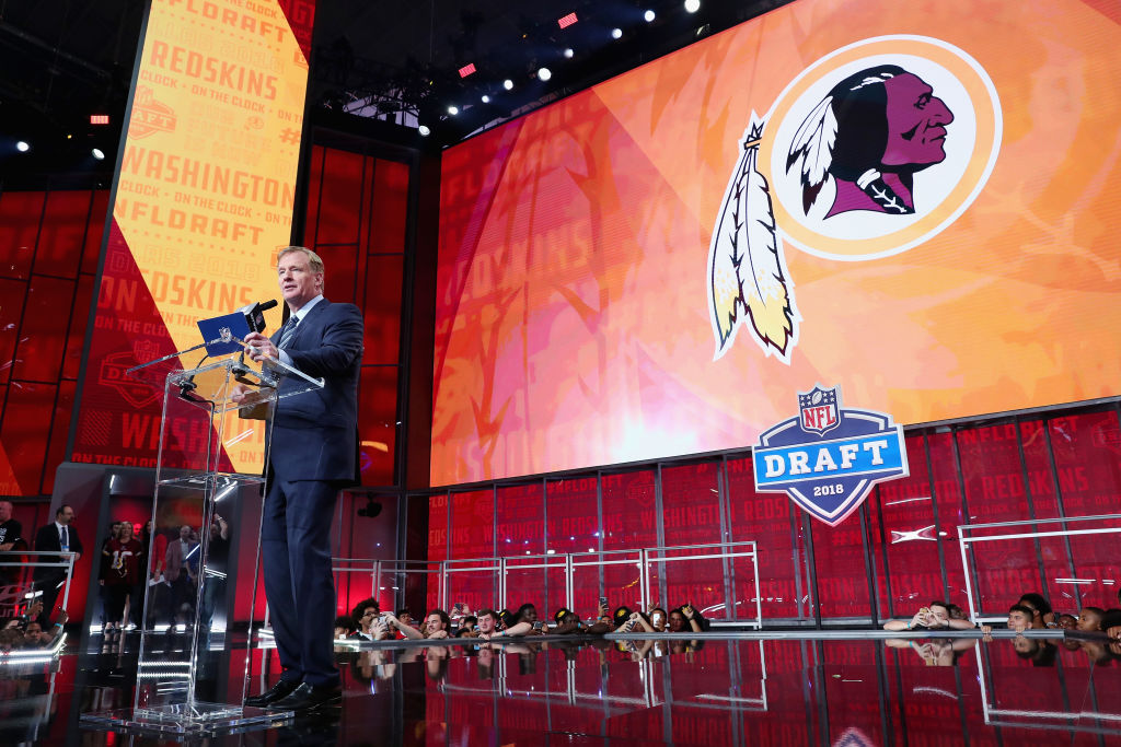A lawsuit involving the Washington Redskins almost forced the NFL to stop holding its annual draft.