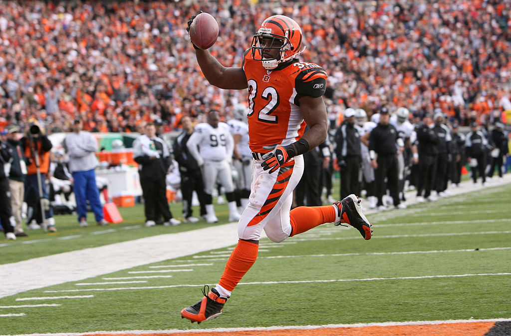 Former Bengals running back Rudi Johnson was a touchdown machine. Johnson now serves a Miami Dolphins uniform inspector.