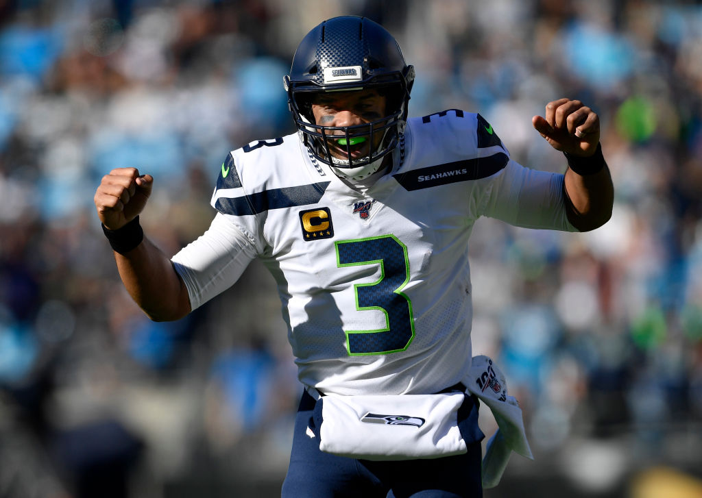 Seattle Seahawks quarterback Russell Wilson should be the third quarterback taken in your fantasy football league.