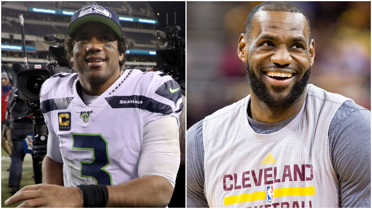 Russell Wilson is a great QB. LeBron James is a great basketball player. Wilson could have, believe it or not, become the next LeBron.