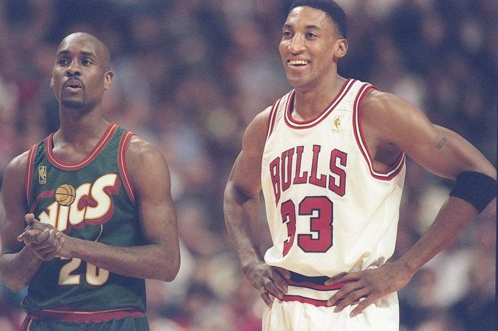Hall of Famers Scottie Pippen and Gary Payton