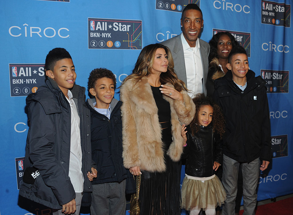 Scottie Pippen was an NBA star and now has seven children.