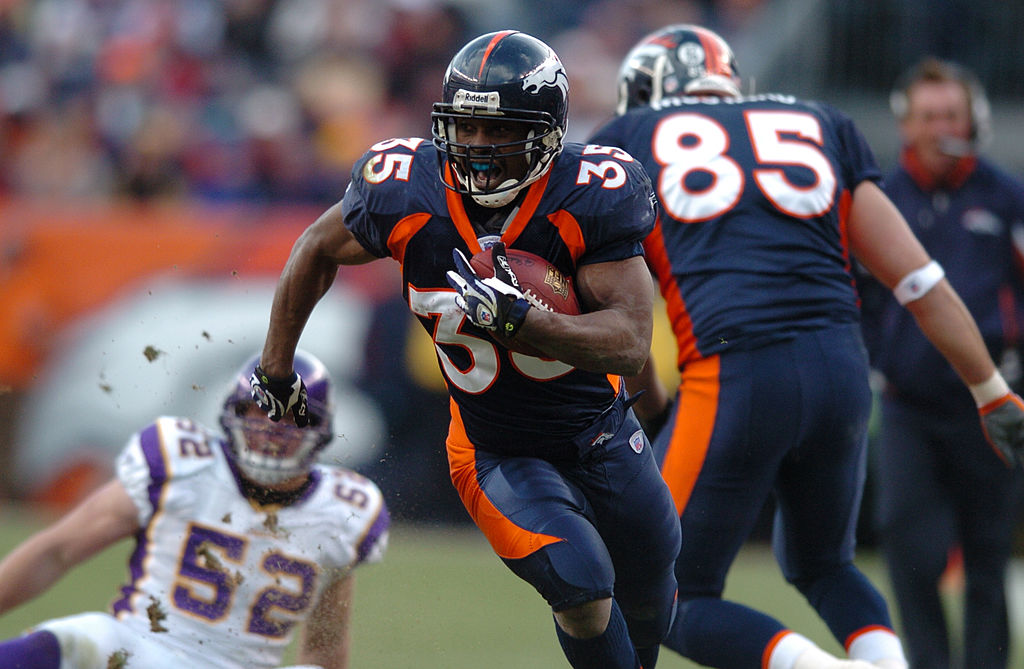 Former Denver Broncos running back Selvin Young ran for 729 yards on 5.2 yards per carry as a rookie in 2007. Young later battled injuries, though, and his career ended prematurely.