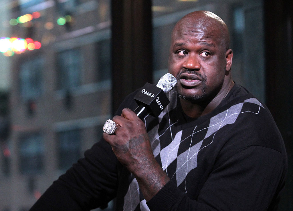 Hall of Famer Shaquille O'Neal