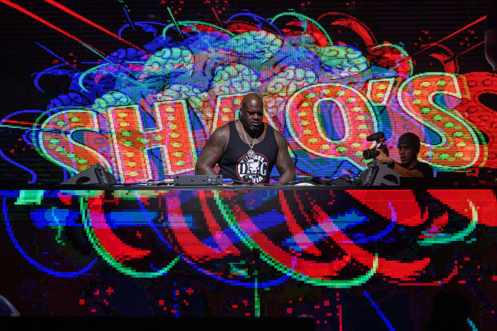 Shaquille O'Neal doesn't earn any money performing as DJ Diesel.