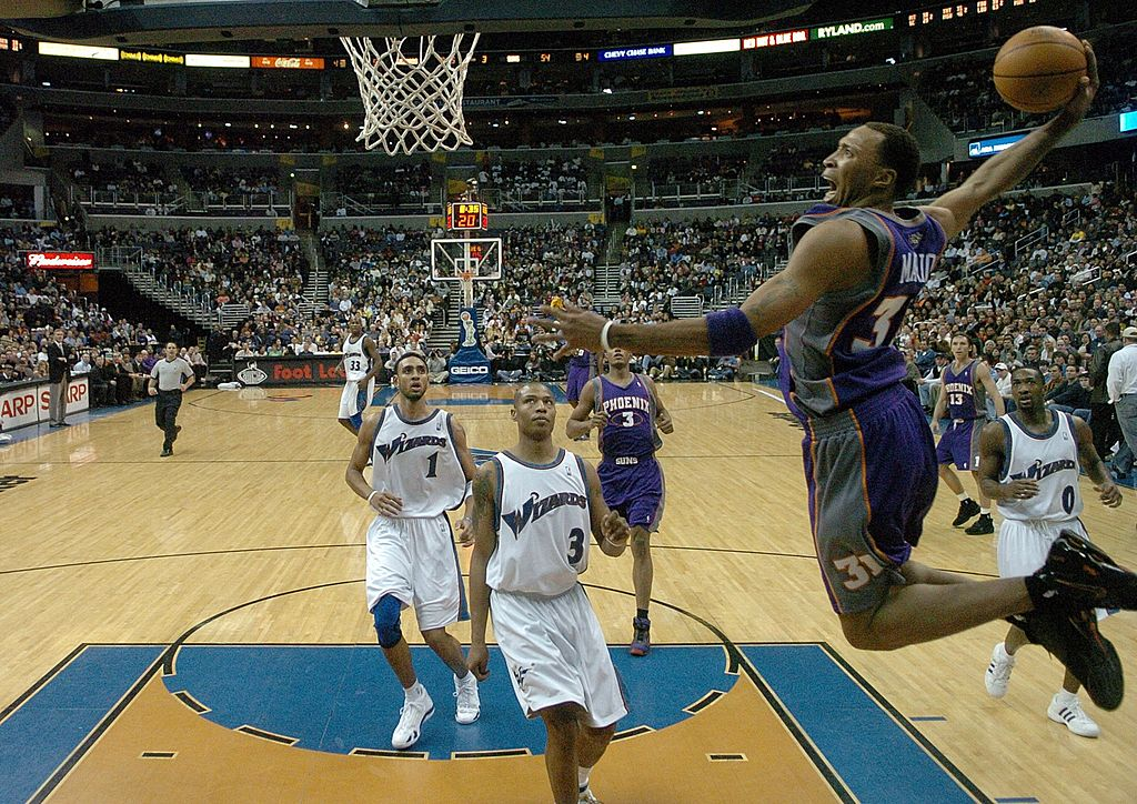 Former Phoenix Suns star Shawn Marion takes credit for how the current NBA is played.