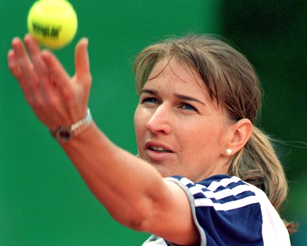 Tennis star Steffi Graf