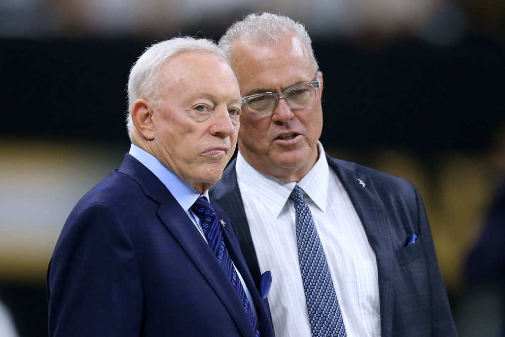 Stephen and Jerry Jones recently signed Andy Dalton to be the Dallas Cowboys' backup quarterback.