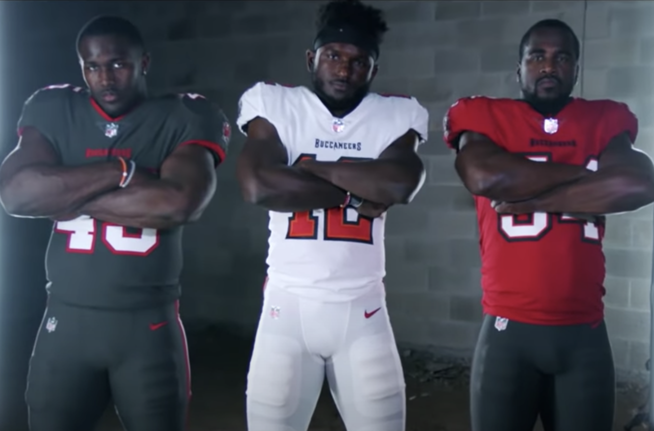 The Buccaneers New Uniforms Signal The Tom Brady Era In Tampa