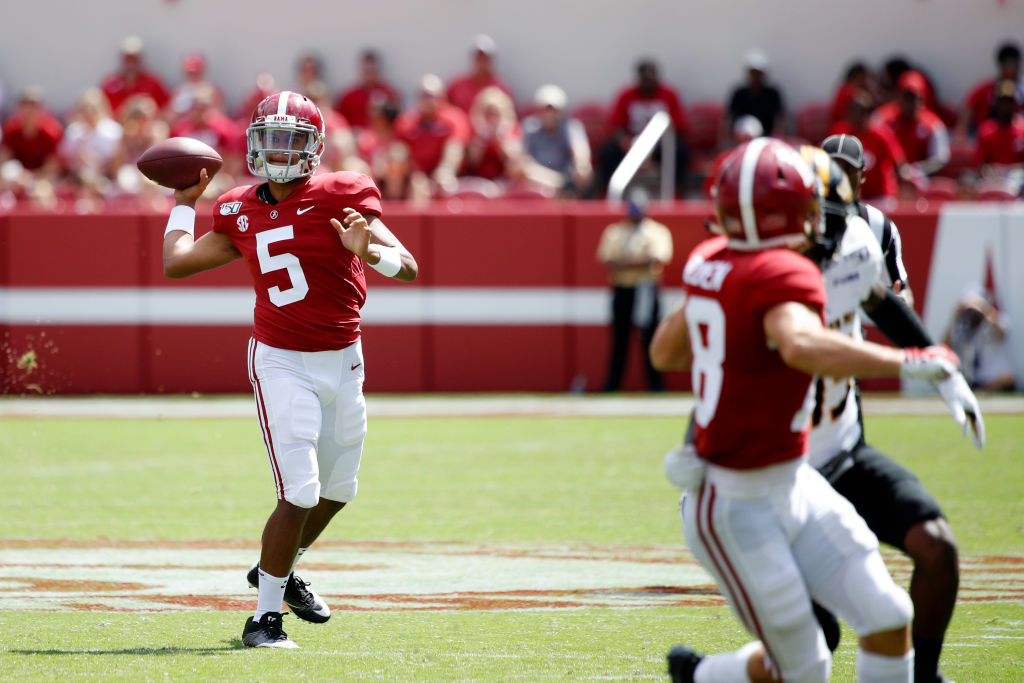 Former Alabama quarterback Taulia Tagovailoa transferred to the University of Maryland.