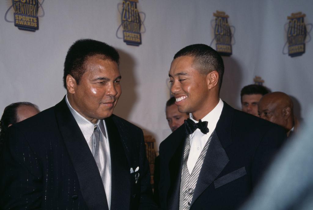 Muhammad Ali Tiger Woods