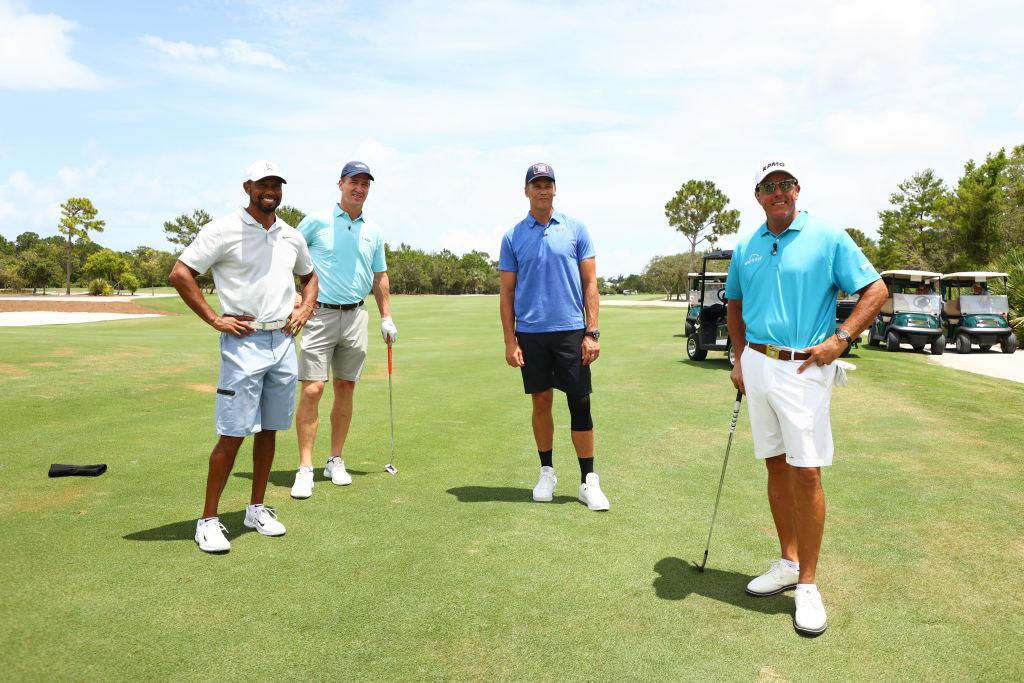 Tiger Woods Peyton Manning Phil Mickelson Tom Brady