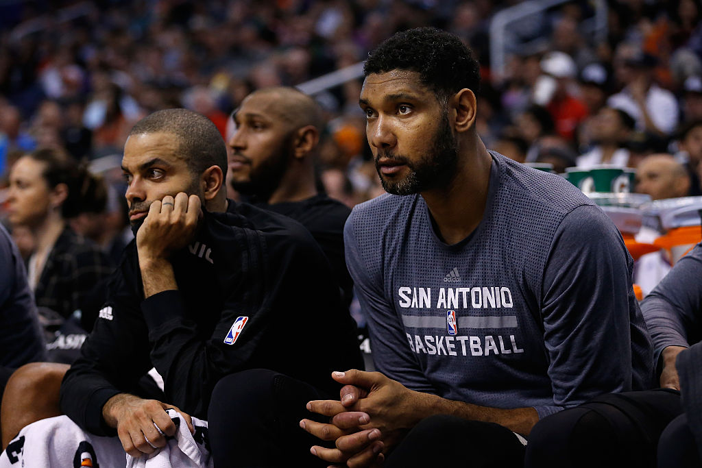 Tim Duncan Fired a Surprising Shot at Michael Jordan as a Rookie