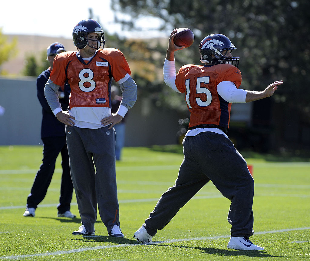 Tim Tebow and Kyle Orton battled to be the starting quarterback of the Denver Broncos.