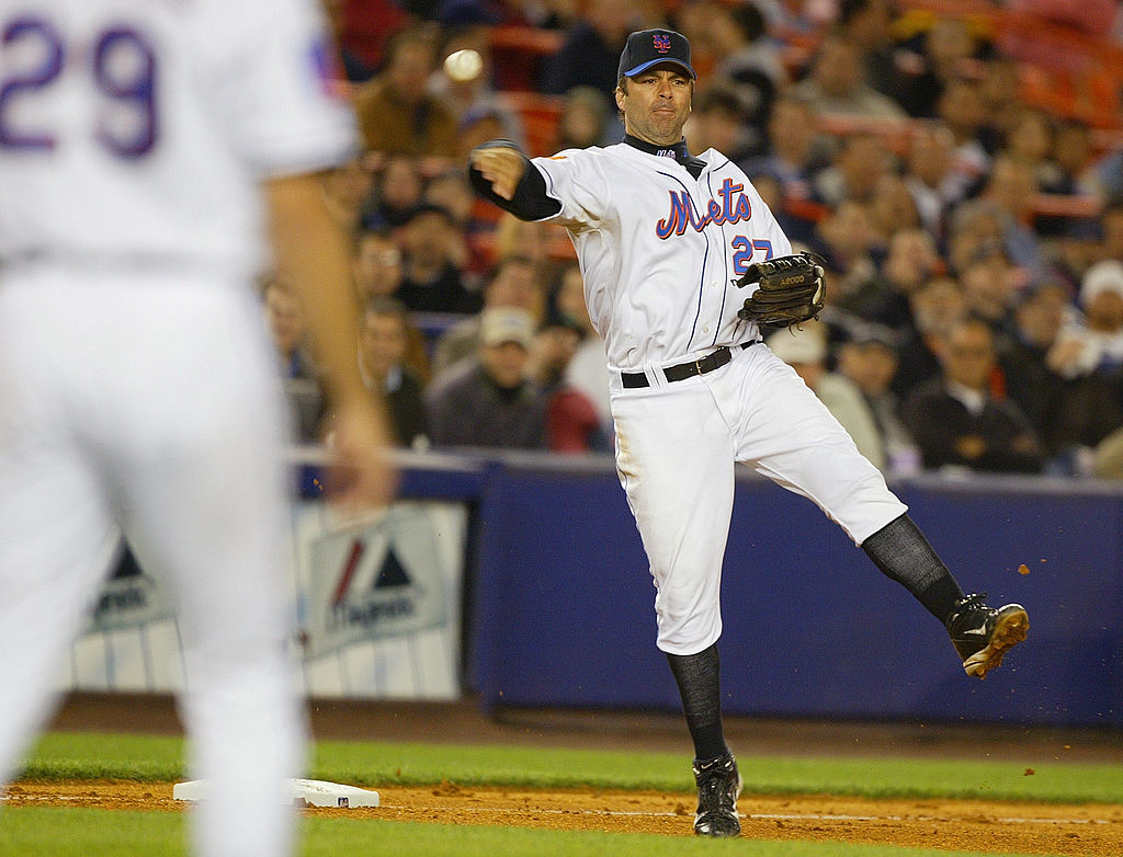 Former New York Mets third baseman Todd Zeile had over 2,000 hits and 250 home runs in 16 MLB seasons.