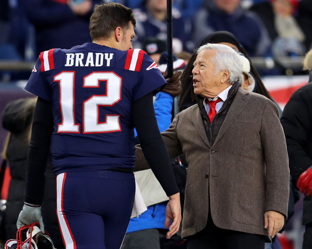Tom Brady's Tampa Bay Buccaneers won't play at the same time as the New England Patriots until Week 15.