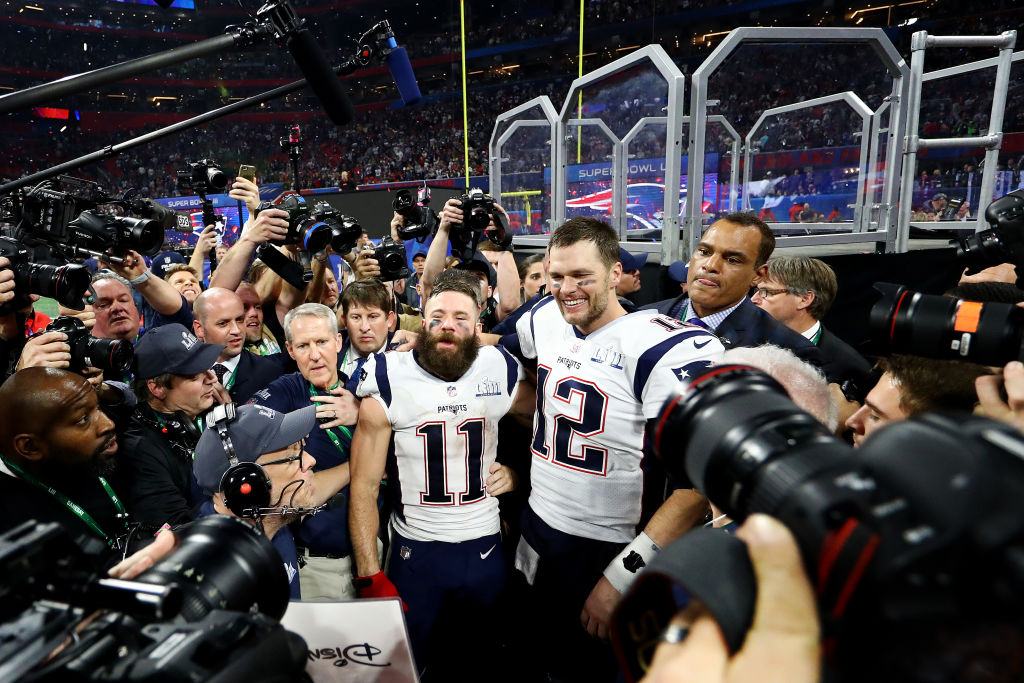 Tom Brady will join Michael Jordan in having his career documented in a nine-part series examining his Super Bowl trips with the Patriots.