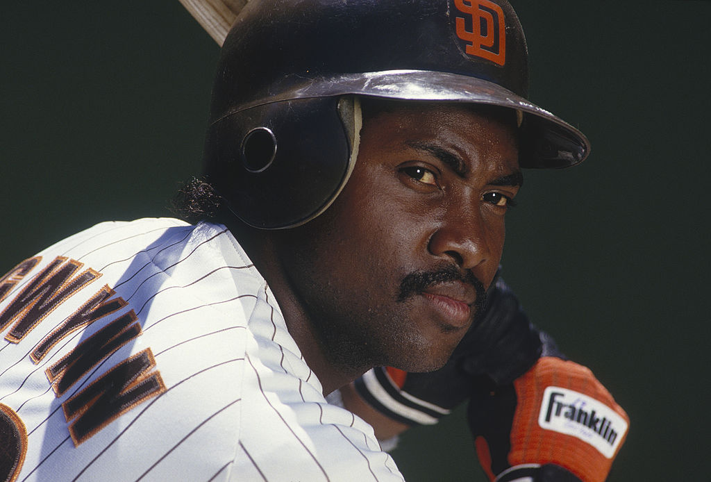 Tony Gwynn was a star for the Padres who only struck out three times in a game once in his Hall of Fame career.