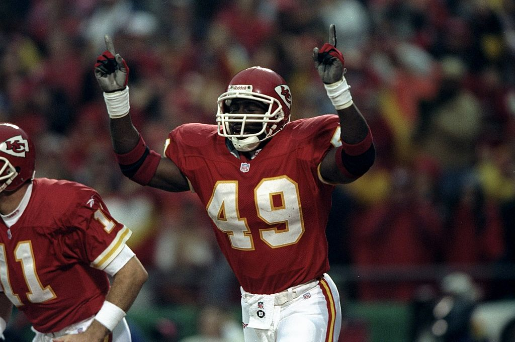 Former Kansas City Chiefs fullback Tony Richardson earned three Pro Bowl honors in his career.