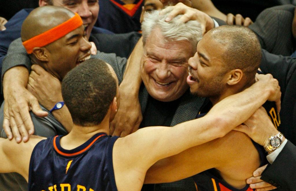 Warriors head coach Don Nelson