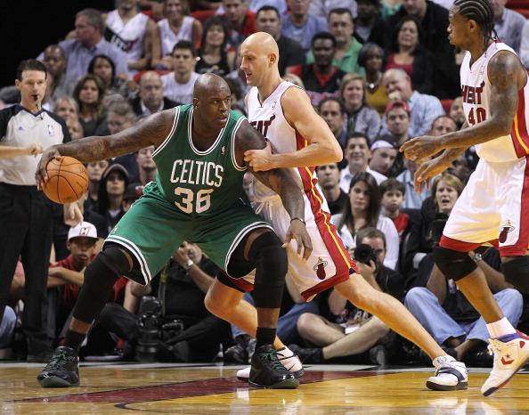 Shaq on the Boston Celtics