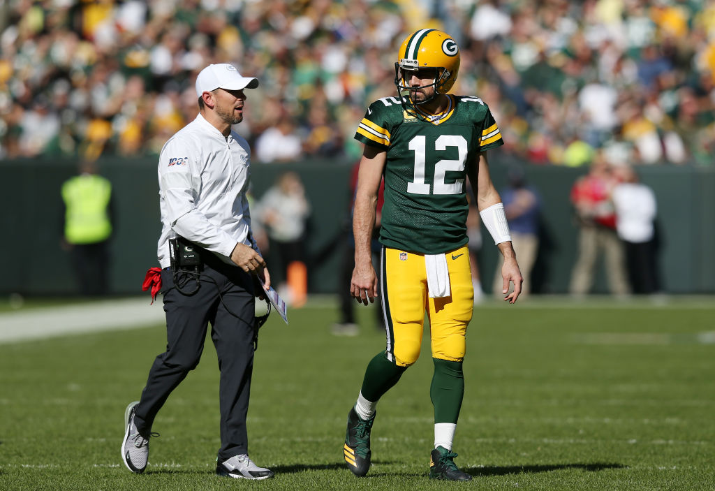 Packers' Aaron Rodgers and Matt LaFleur