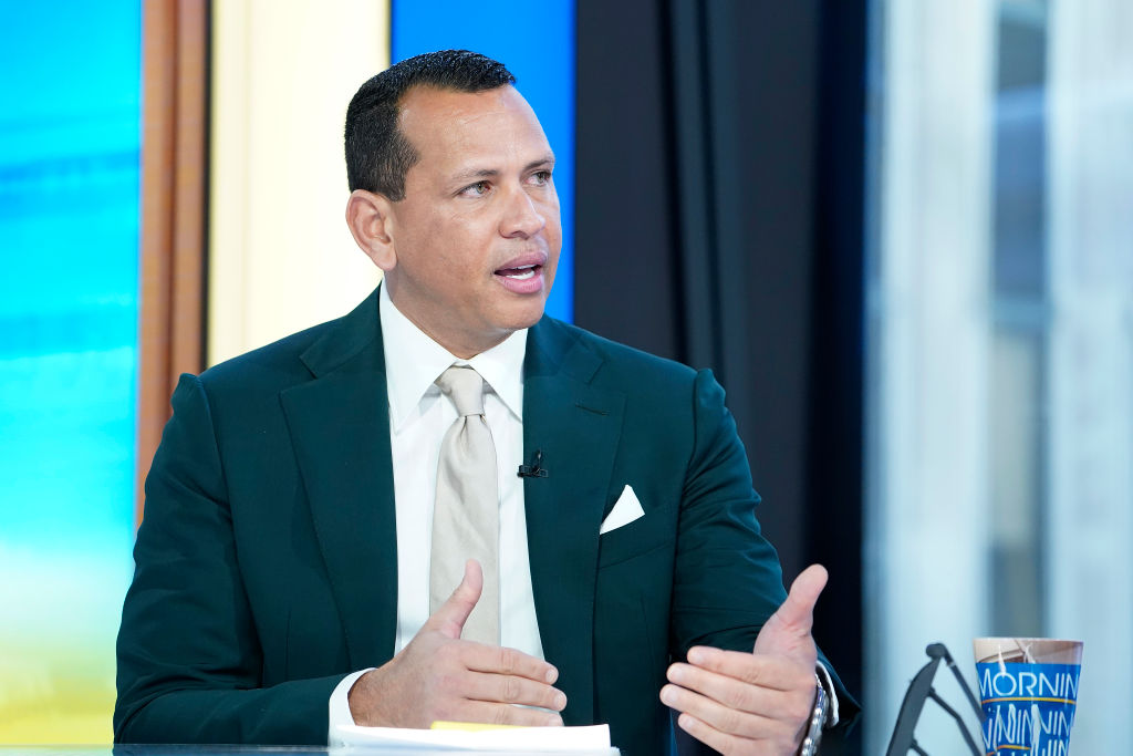 Former shortstop and third baseman for the New York Yankees Alex Rodriguez
