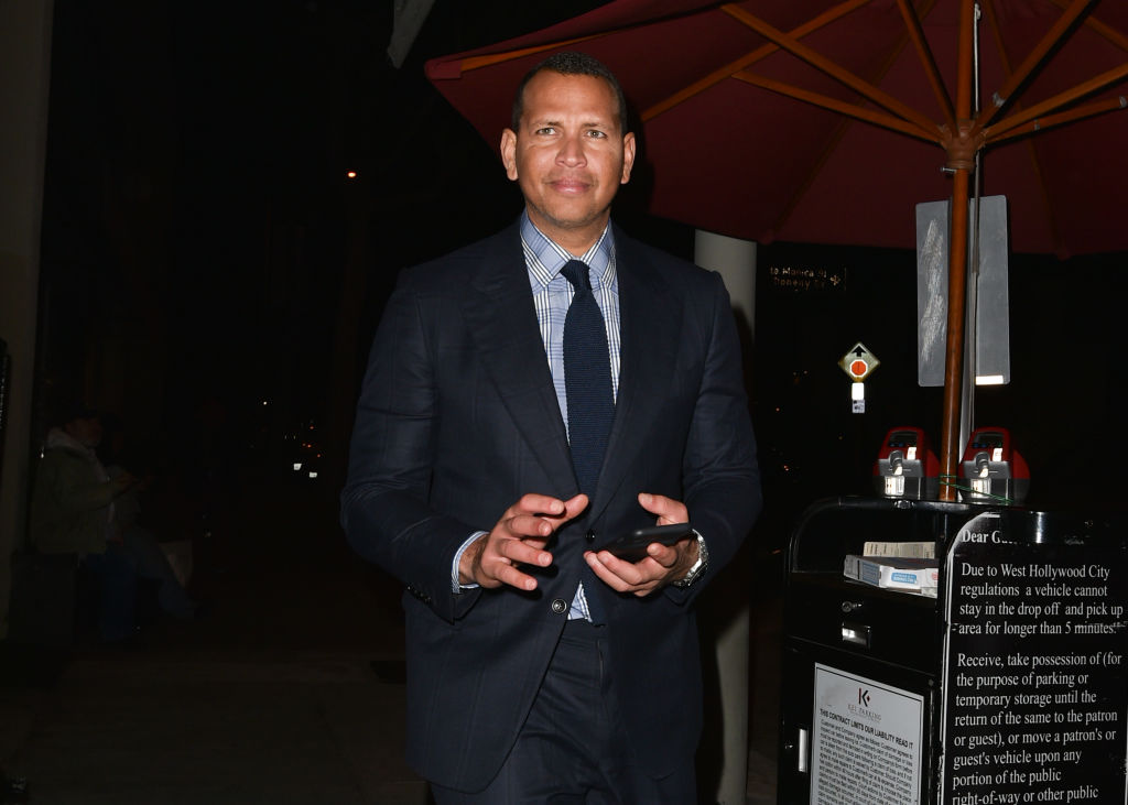 Alex Rodriguez in 2019