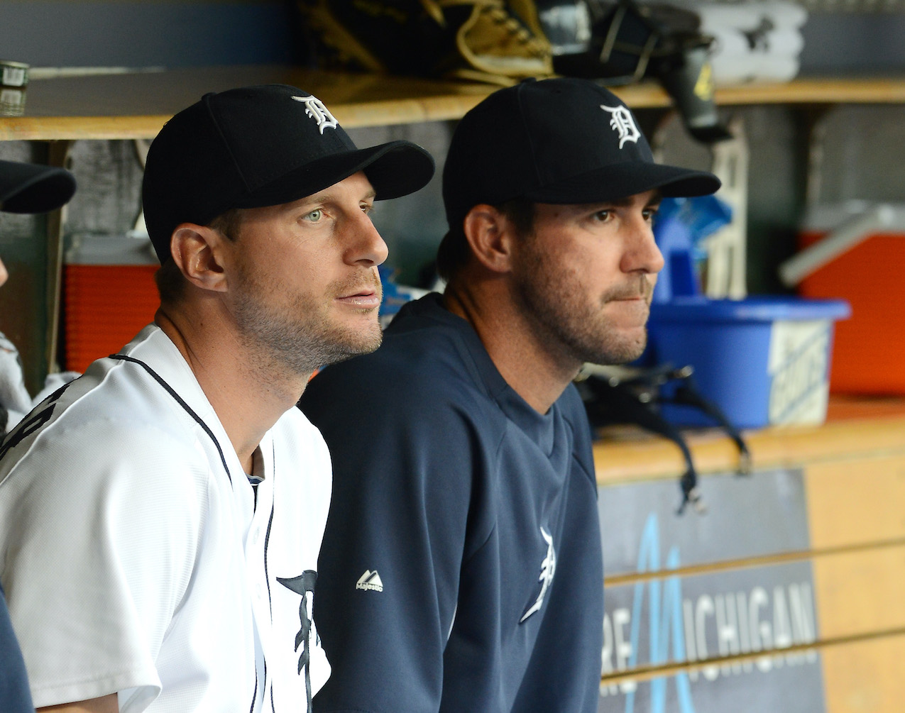 Max Scherzer and Justin Verlander formed the backbone of a ferocious Detroit Tigers pitching staff, but were they friends when they played together?