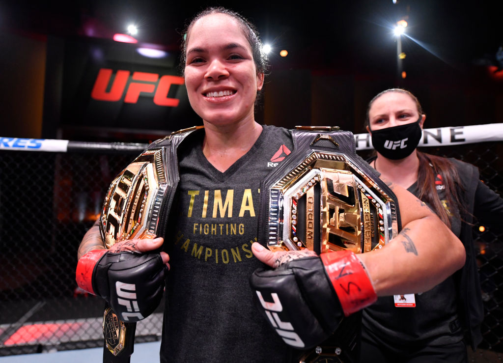 Amanda Nunes holds two separate UFC titles, but could surrender both belts sooner than you'd think.