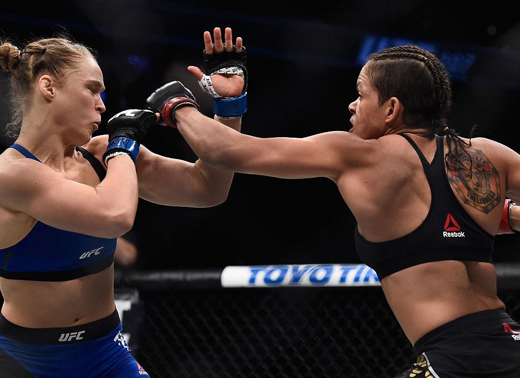 Amanda Nunes Ronda Rousey UFC
