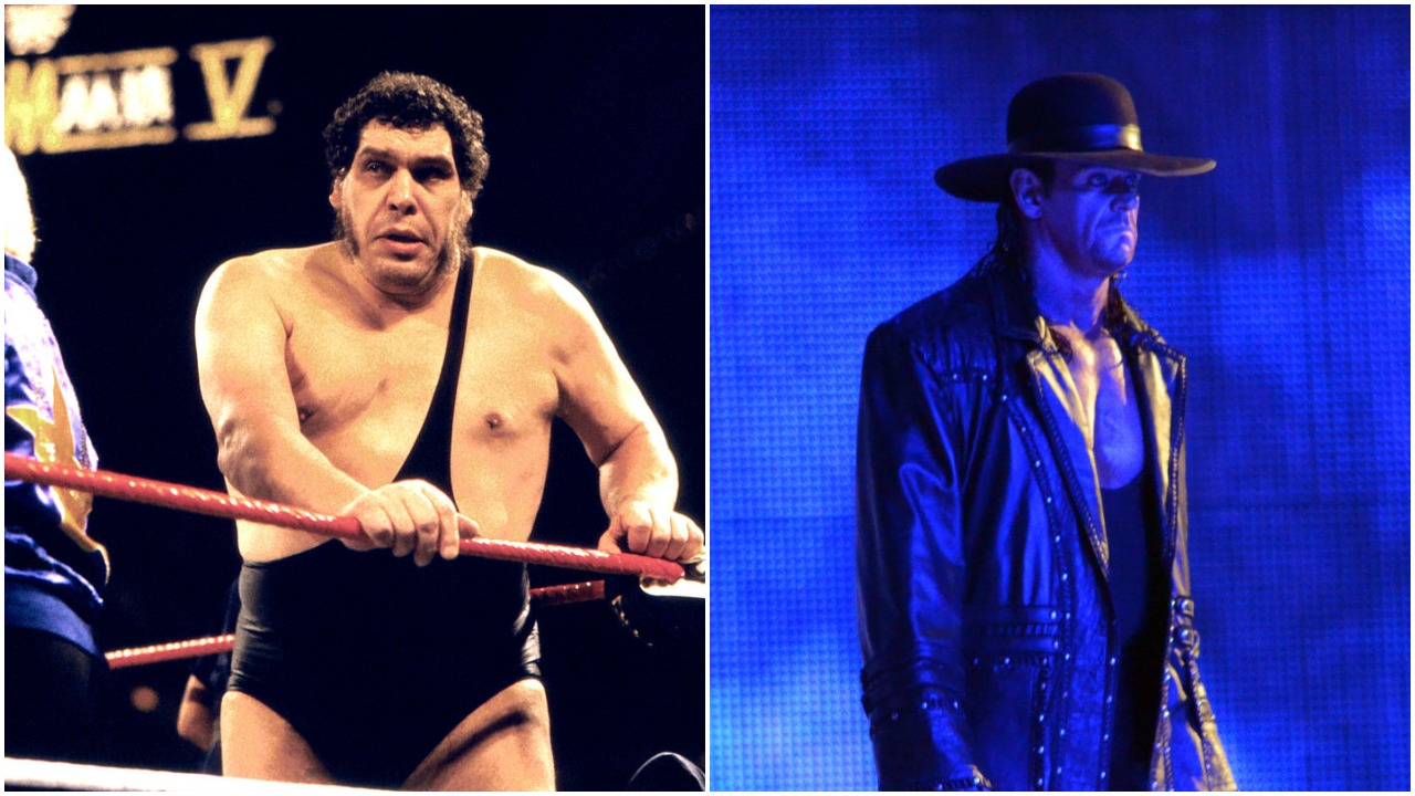 Andre the Giant The Undertaker