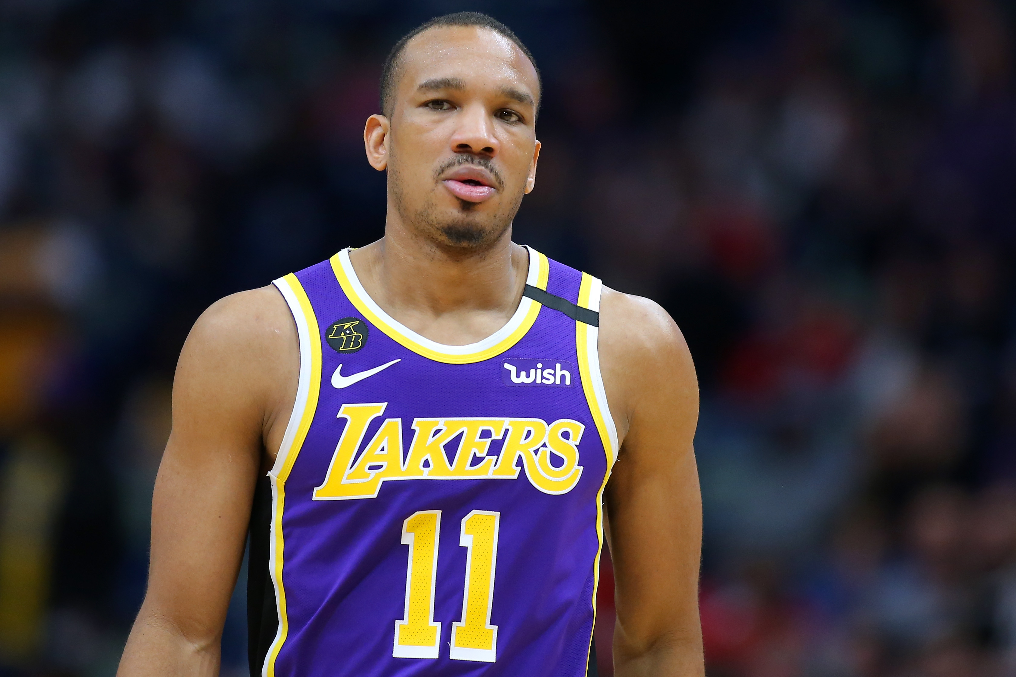 Avery Bradley of Los Angeles Lakers