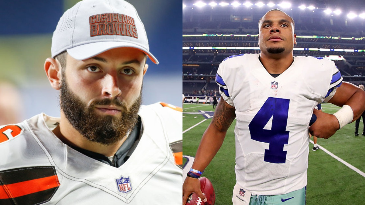 Baker Mayfield and Dak Prescott: Mayfield's Career Earnings Total With the Browns Is Already 4 Times Higher Than Prescott's With the Cowboys
