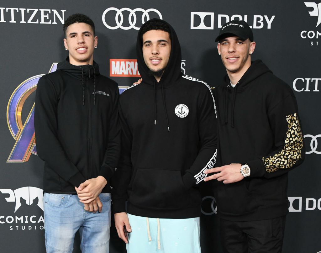 Lonzo Ball and Brothers LaMelo and LiAngelo Just Joined Forces with a Legendary Billionaire