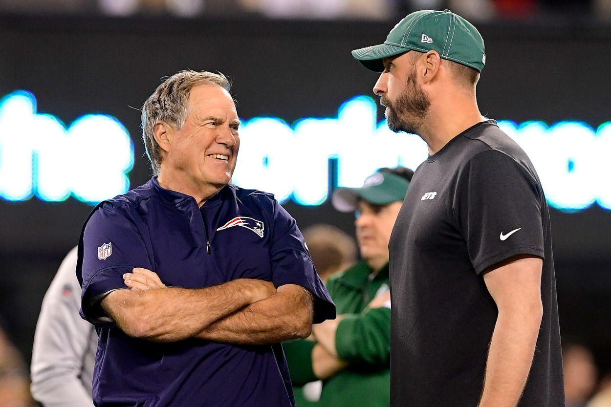 Patriots head coach Bill Belichick was once sued for $185 million by a Jets fan who was upset over Spygate.