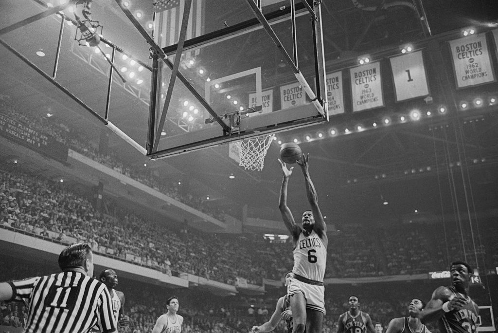 Bill Russell wants everyone to know just how athletic he really was.