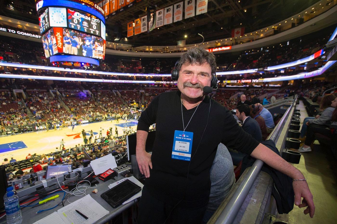 Bill Schoening San Antonio Spurs
