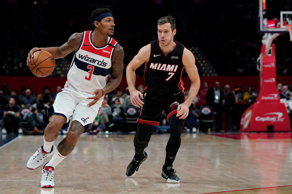 Bradley Beal signed a two-year extension with the Washington Wizards in October. Before that, though, he reportedly considered the Miami Heat.