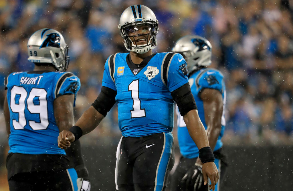 The Carolina Panthers didn't nominate Cam Newton as one of their potential franchise GOATs, which raised some eyebrows on Twitter.