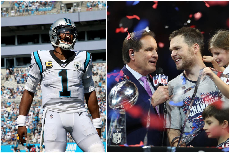 Cam Newton has more kids than Tom Brady has Super Bowl rings.