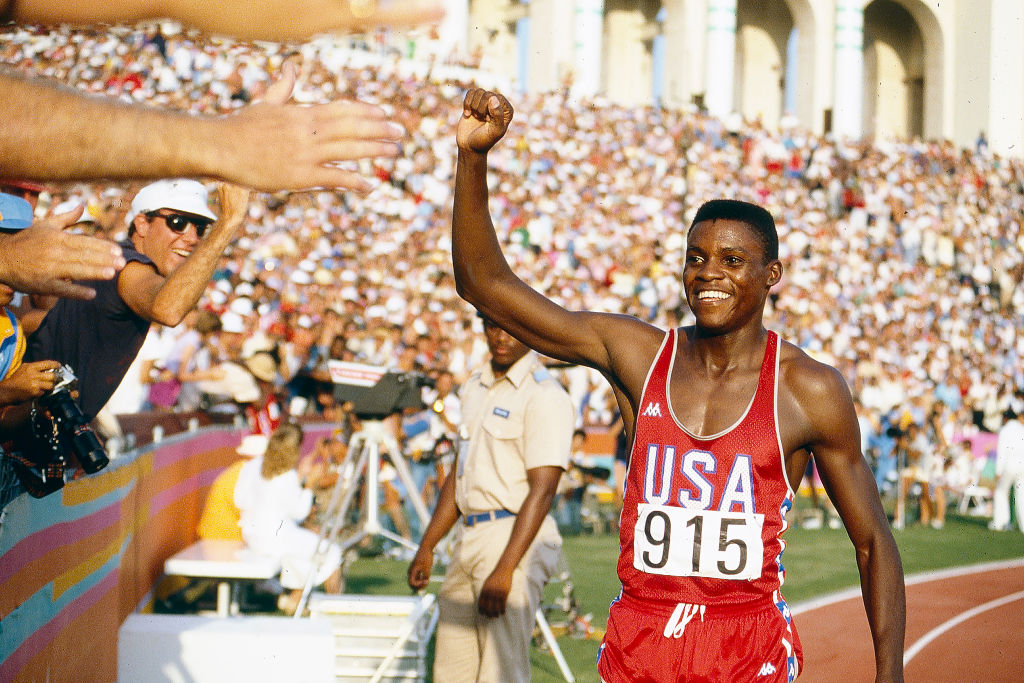 Carl Lewis, Olympic track and field star