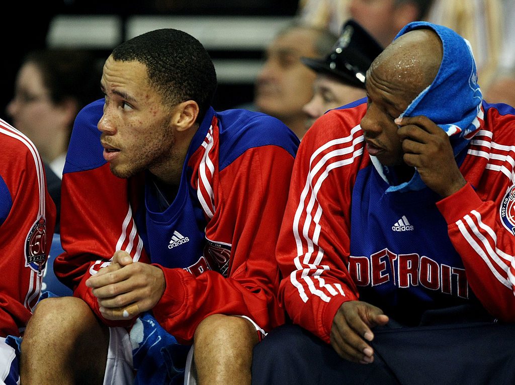 Chauncey Billups and Tayshaun Prince starred for the Pistons but could now be battling for the same job.