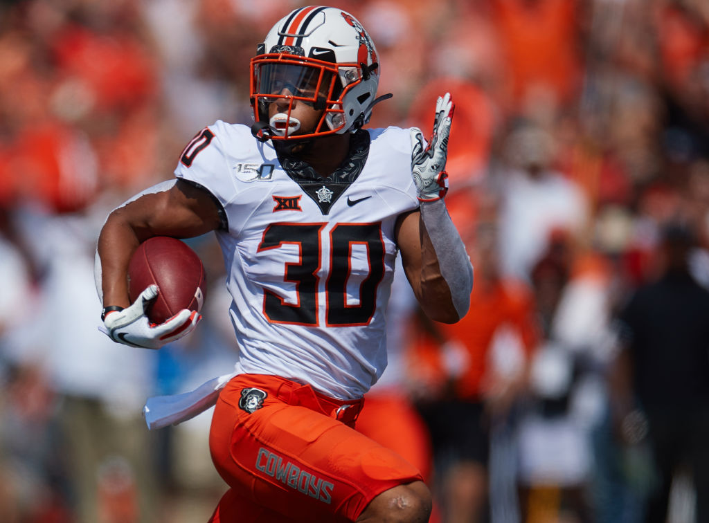 Oklahoma State running back Chuba Hubbard vowed to stay away from the team because he is unhappy with head coach Mike Gundy.
